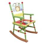 Teamson KYW-8266A Sunny Safari Schaukelstuhl ganzer Stuhl Ansicht