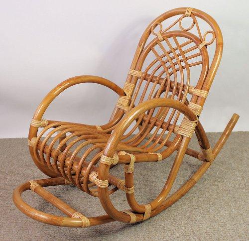 kinder schaukelstuhl rattan farbe pinie. Black Bedroom Furniture Sets. Home Design Ideas