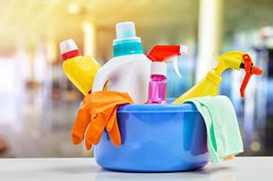 Reinigung und Pflegemittel für den Schaukelstuhl
