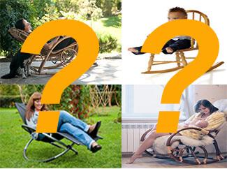 Schaukelstuhl kaufen: Finden Sie das passende Modell indem Sie einige Fragen beantworten