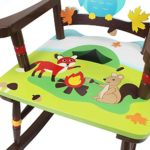 Teamson Kinder Schaukelstuhl TD-11738A Fantasy Fields Enchanted Wood Sitzfläche