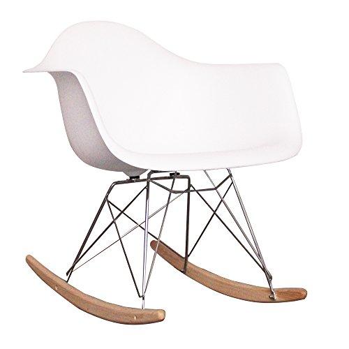 kinder scandi retro schaukelstuhl wei schaukelstuhl. Black Bedroom Furniture Sets. Home Design Ideas
